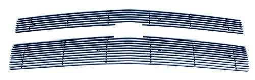 MaxMate 2014-2015 Chevy Silverado 1500 7/12 BARS (Does not fit Z71 models) Bolton Upper 2PC Horizontal Billet Polished Grille Grill Insert