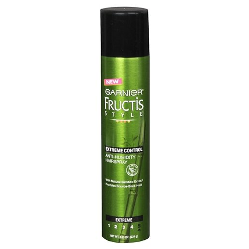 Garnier Anti-Humidity Hairspray Extreme Control Extreme Hold 8.25 OZ (Pack of 18) by Garnier
