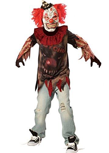Disfraz payaso diabólico hombre Halloween
