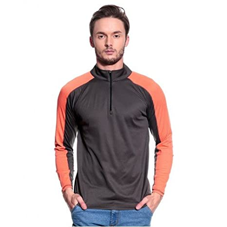 fae5bdfd8 T10 Sports Men Run Star Grey amp  Orange available at Amazon for Rs.799