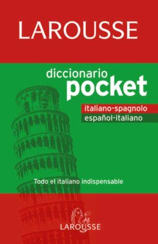 Descargar Libro Diccionario Pocket Español-italiano / Italiano-spagnolo Aa.vv.