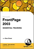 FrontPage 2003 Essential Training, Garo Green, 1596710217
