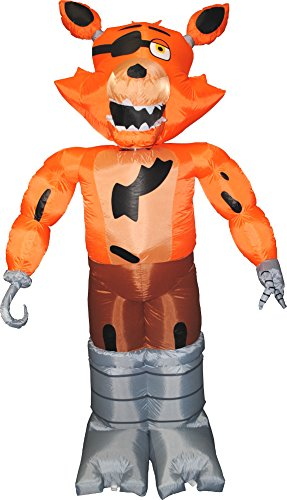 Morbid Enterprises Five Nights at Freddy's Foxy Inflatable Yard Decoration ()
