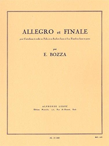 Allegro et Finale -