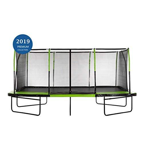 - Upper Bounce UBRTG01-1017 - Mega Trampoline 10' x 17' - Fiber Flex Enclosure System - Easy Assemble