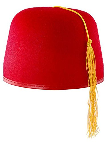 Rubie's Durashape Fez Hat- Red Costume