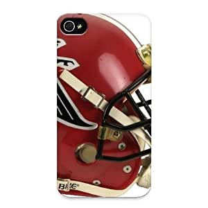 Freshmilk EZQvgD-2779-toSvu Case Cover Skin For Iphone 4/4s (atlanta Falcons Helmet Red Nfl)/ Nice Case With Appearance