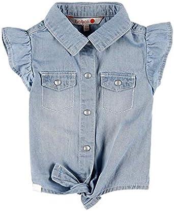 boboli Camisa Denim de bebé niña Modelo 229092: Amazon.es ...