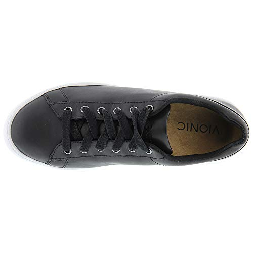 Womens Vionic Syra Black Trainers Leather Splendid dSSEx6r