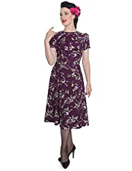 New Hell Bunny Birdy Vintage Landgirl 40's Dress