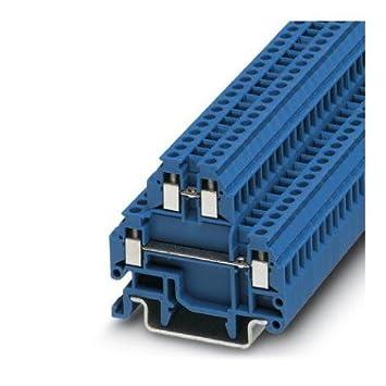 Amazon com: DIN Rail Terminal Blocks MTTB 1 5 BU (1 piece