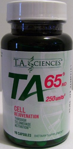 T.A. Sciences | TA-65 Telomerase Activation | Cell Rejuvenation | 90 Capsules