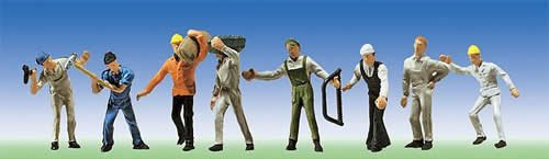 Faller 151051 Construction Workers 8/HO Scale Figure -