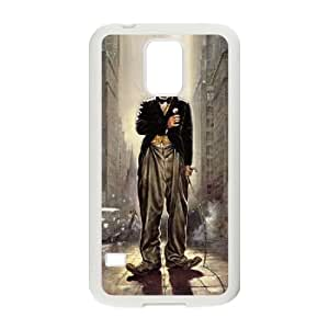 YUAHS(TM) Personalized Hard Back Cover Case for SamSung Galaxy S5 I9600 with Charlie Chaplin YAS396307