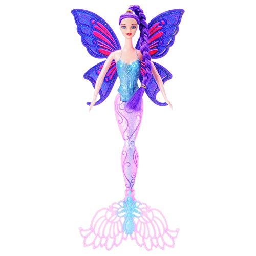 PAPWELL Mermaid Dolls Original Swimming Fashion Ariel Mermaid Doll With Wings Toys Princess Jointed Dolls For Girls