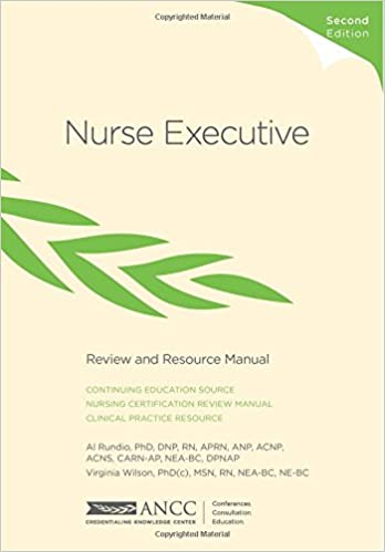 Nurse Executive Review and Resource Manual: 9781935213345: Medicine ...