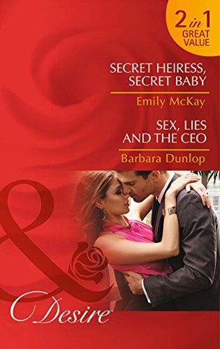book cover of Secret Heiress, Secret Baby / Sex, Lies and the CEO