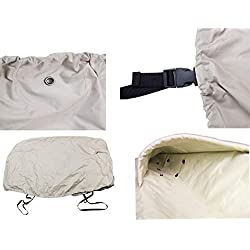 RORAIMA Lawn Mower Tractor Cover with Elastic Hems