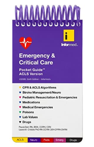 emergency critical care pocket guide 9781890495244 medicine rh amazon com emergency & critical care pocket guide 8th edition emergency & critical care pocket guide 8th edition