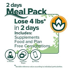 Naturhouse Pack Express - Complete 2 Days Weight Loss Plan - Comes with 4 Meals, 2 Weight Loss Drinks, Fiber, Supplement and More by Naturhouse (Image #4)