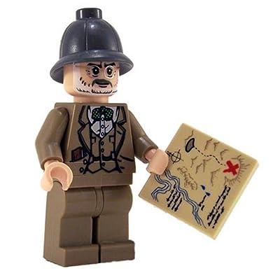 LEGO Professor Henry Jones Indiana Jones Figure: Toys & Games [5Bkhe0506650]