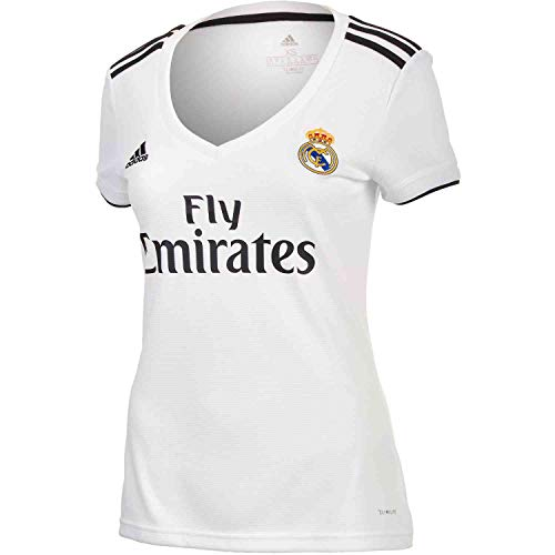 adidas 2018 19 Womens Real Madrid Home Replica Jersey Medium 9277248db