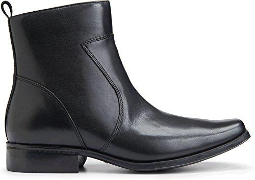 Rockport Men's Toloni Ankle Bootie, Black, 10.5 W ()