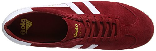 Gola 50 Red Rw Suede Uomo Rosso Sneaker White Red Harrier Brw6qB