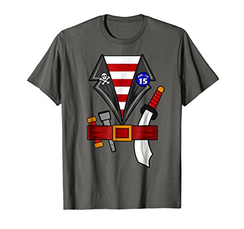 Arr I'm 15 Shirt | Pirate Buccaneer Party T-shirt (15 Year Old Boy Halloween Costume Ideas)