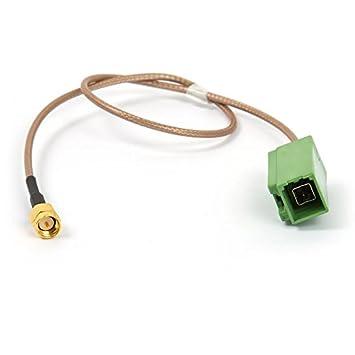 Adaptador de módulo de navegación para antena GPS original en Toyota, Lexus, Subaru, Mazda: Amazon.es: Electrónica