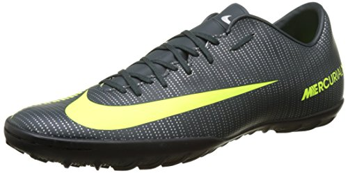 Nike Men's MercurialX Victory VI CR7 (TF) Soccer Cleat Seaweed/Volt/Hasta/White Size 8.5 M US