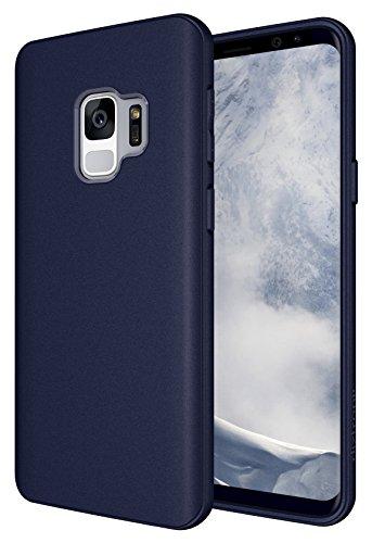 Galaxy S9 Case, Diztronic Full Matte TPU Series - Slim-Fit Flexible Phone Case for Samsung Galaxy S9 - (Matte Dark Blue)