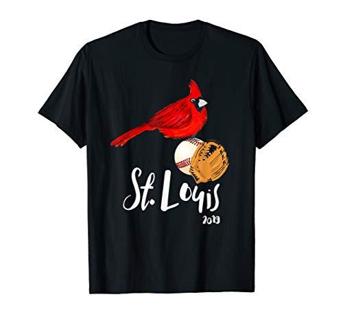 Saint Louis Red Cardinal Tshirt 2019 Art and Baseball Deisgn