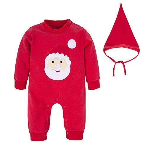 BIG ELEPHANT Unisex Baby 1 Piece Cute Christmas
