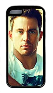 iCustomonline Channing Tatum Custom Rubber Black Back Case for ipod touch 5 ipod touch 5