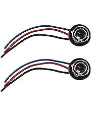Stradard 1157 LED Bulbs Socket Holder Auto Car Plastic Waterproof Turn Signal Tail Stop Rear Brake Light Base Harness Plugs Connectors Pre-Wired Wiring Sockets