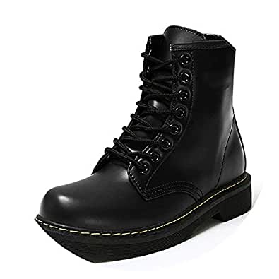 Amazon.com | Winter Ankle Boots Pu Leather Women Boots