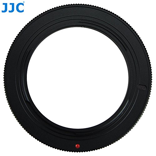 JJC RR-AI 49mm Macro Reverse Ring Camera Mount Adapter For Nikon D5500 D5300 D5200 D5100 D3300 D3200 D3100 D90 D800 D810 D610 D600 F Mount Camera And lens with 49mm filter thread