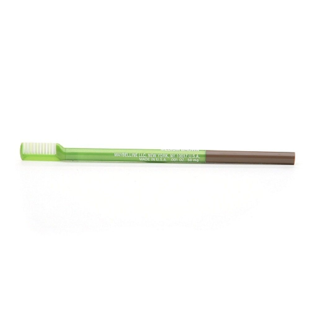 Maybelline Define-A-Brow Eyebrow Pencil, Light Brown 644 0.001 oz Pack of 6