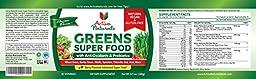 Activa Naturals Greens Superfood Powder - Vegan & Gluten Free 8.5 oz (240 gm) - Raw & Organic Green Foods with Amazing Wheat Grass, Spirulina, Raspberry, Enzymes & Probiotics - Natural Berry Flavor