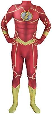 nihiug Flash Disfraz Adulto Hombre Flash Anime Disfraz Niño ...