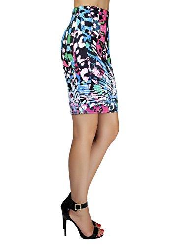 Women's Heidi Pencil Skirt Multicolor, Size Small