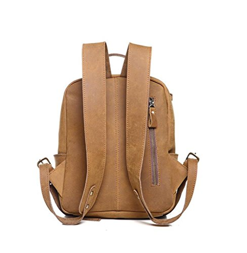 2 bolsos RFID Mano 1 Mujer para viaje trabajo Bloqueo de Capacidad Ideal Cuero Gran hombro Genuina y Genuino Hecho Sucastle a SHABxwnB