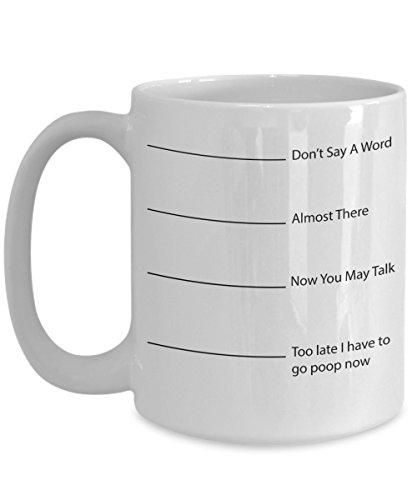Funny Mug - Don't Say A Word