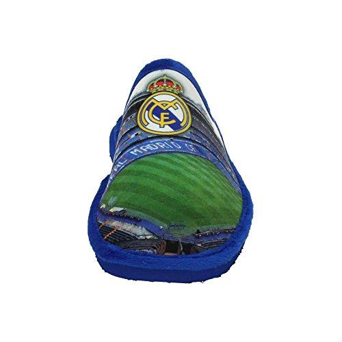 Zapatillas REAL MADRID andar por casa Estadio Bernabeu Azul