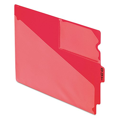 - Pendaflex 13541 End Tab Poly Out Guides, Center