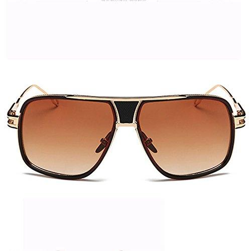 Dama Gafas Retro C De Gafas Moda Grande Cara Gafas Ojos Sol Sol G Sonriendo De A De Trend Irregulares Prueba Deportes Redondas Caja Protección Viento Hombres Metal Pareja g5wqpXp07