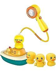 Aoten Baby Bath Shower Speelgoed Schattig Elektrische Duck Water Spray Water Game Bathtub Speelgoed voor Kids Kinderen