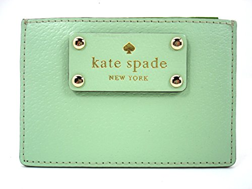 Kate-Spade-Graham-Wellesley-Card-Case-Mint-Mojito-335-Pastel-Green