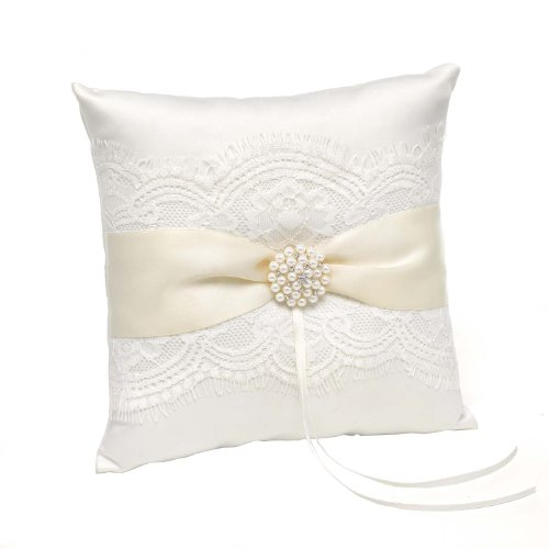 Hortense B Hewitt Splendid Elegance Ring Pillow